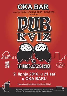 Pub kviz o Bjelovaru