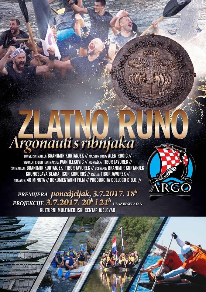 Dokumentarni film ZLATNO RUNO Argonauti s ribnjaka