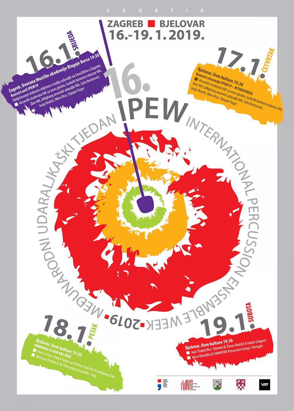 16. Međunarodni tjedan udaraljkaša – IPEW 2019