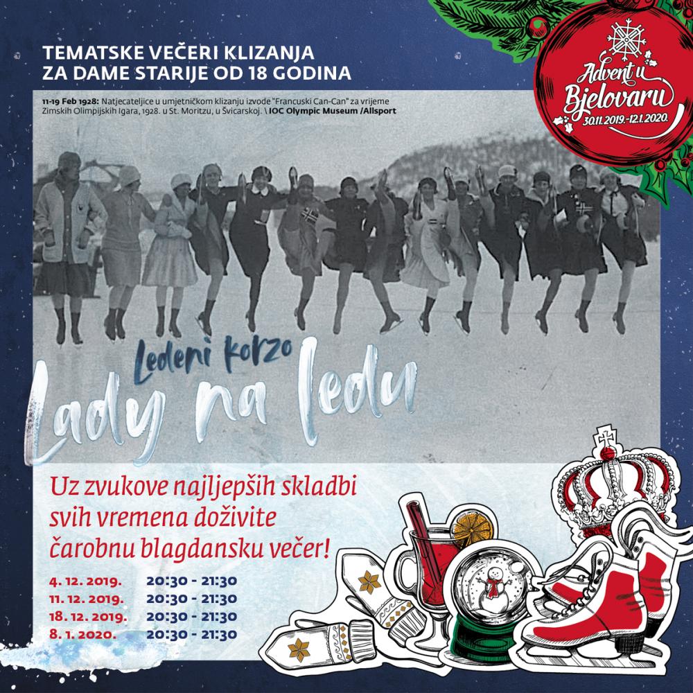 Advent u Bjelovaru 2019. - Lady na ledu
