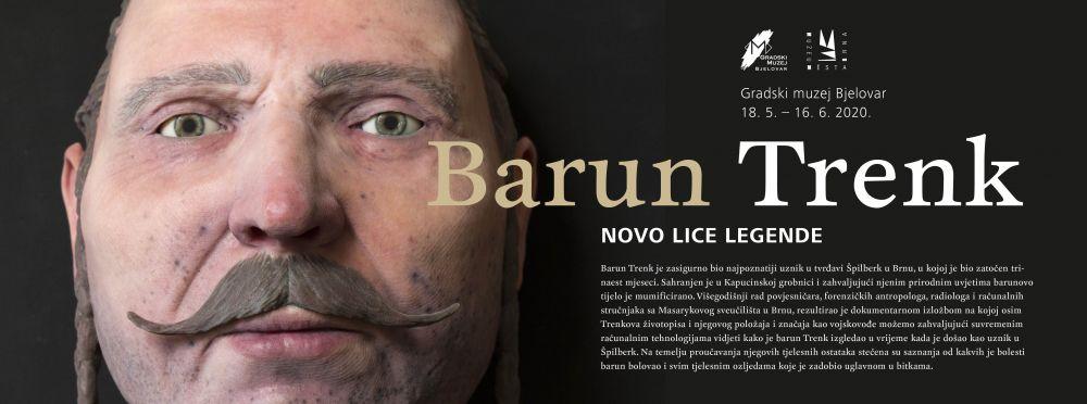Najavljena izložba Barun Trenk, novo lice legende
